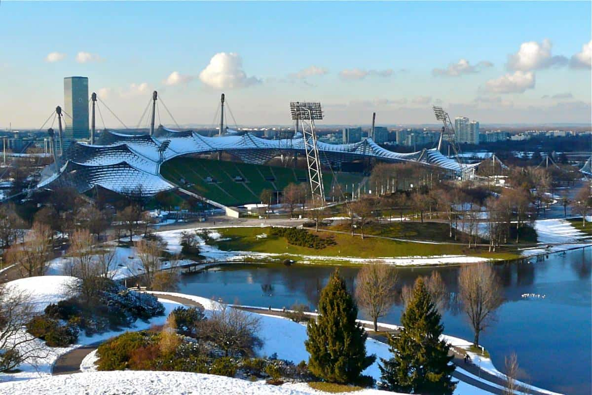 الحديقة الاولمبية في ميونخ