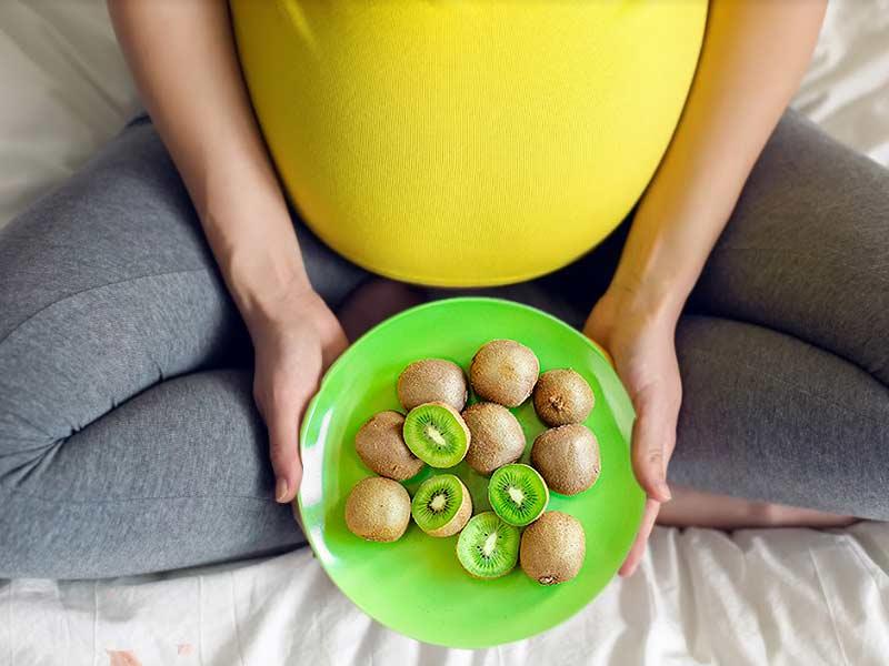 الكيوي للحامل