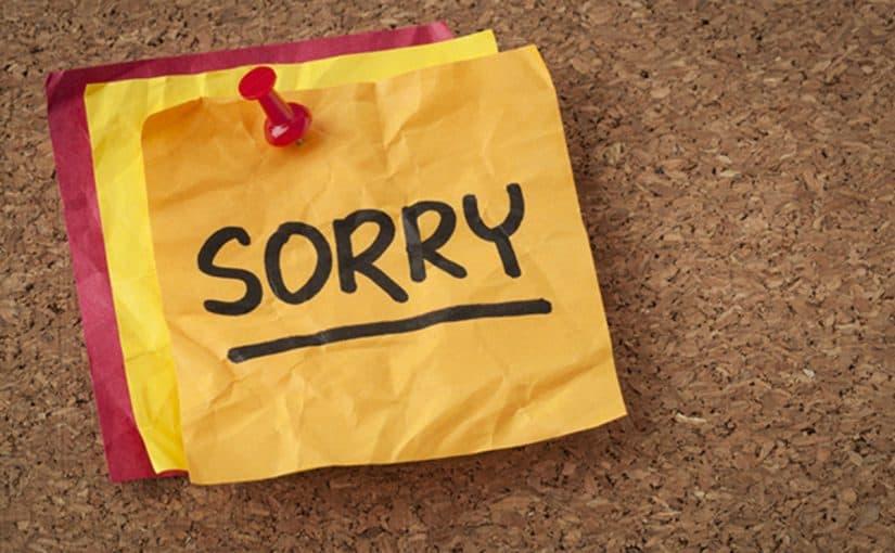 رسالة اعتذار للحبيب