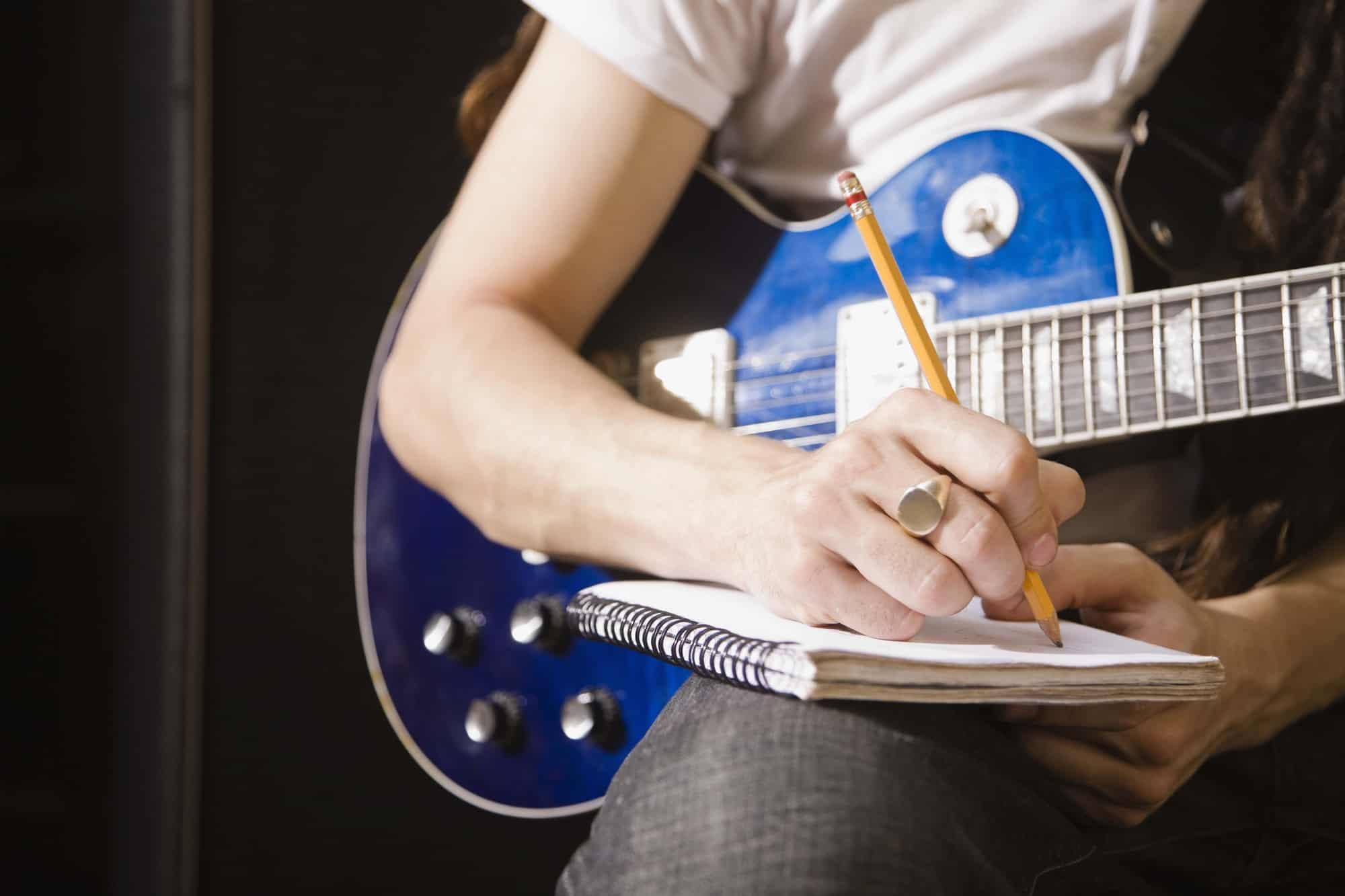 طريقة كتابة كلمات اغاني