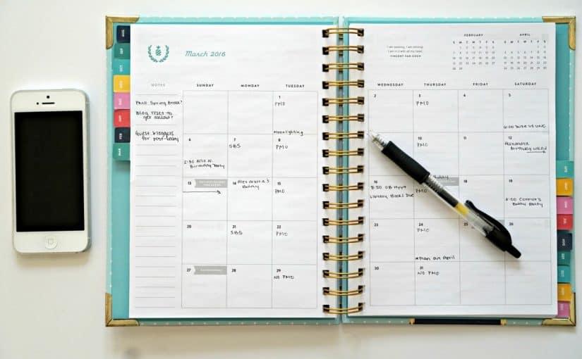 جدول المذاكرة اليومي