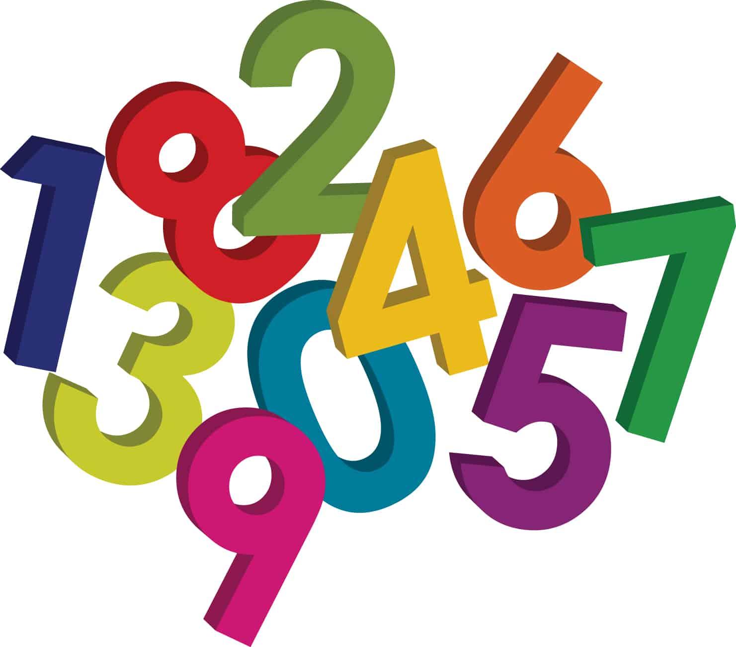 ما هي اصل الارقام العربية والانجليزية