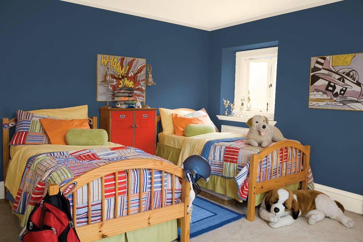صور كرتونية لسرير غرفة أطفال
