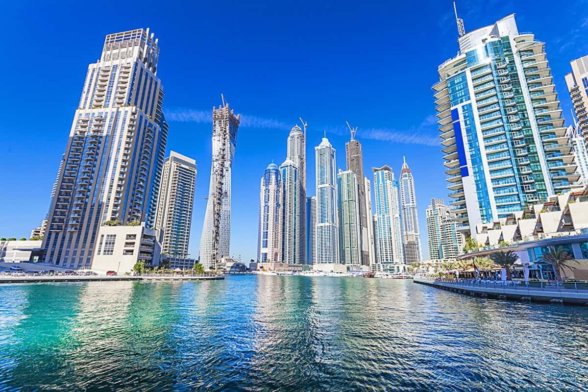 مراحل تطور مدينة دبي