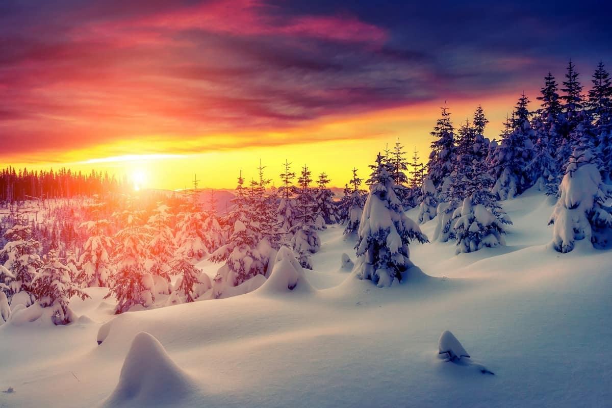 متى يبدا الشتاء