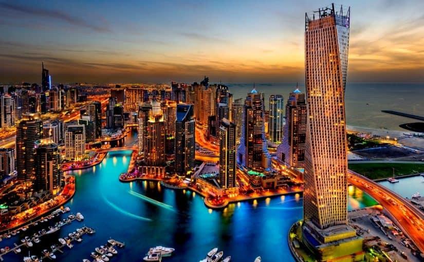 عوامل تطور مدينة دبي