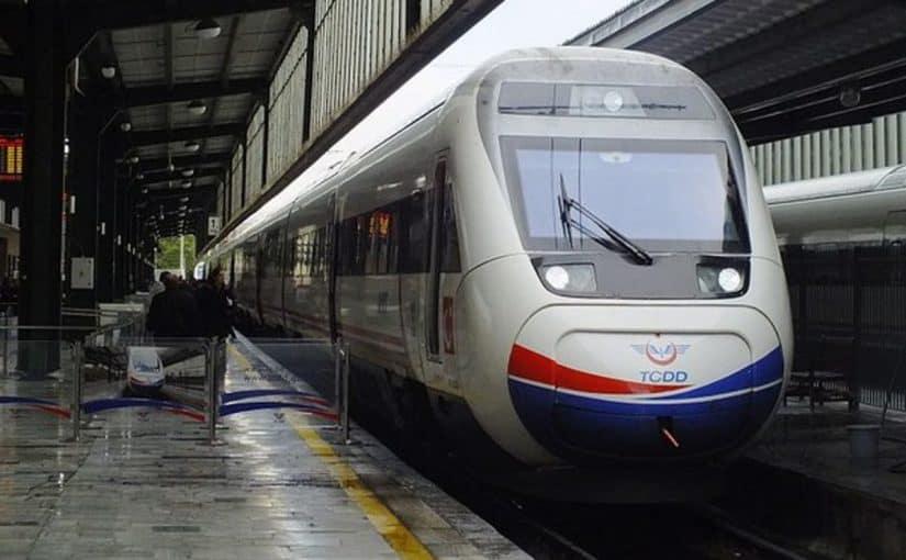 القطار من اسطنبول الى انقرة