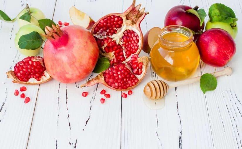 قشر الرمان والعسل للتنحيف