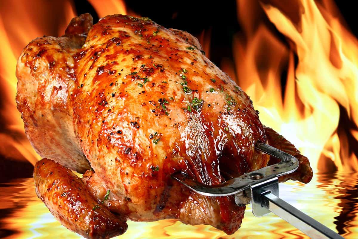 فوائد الدجاج المشوي