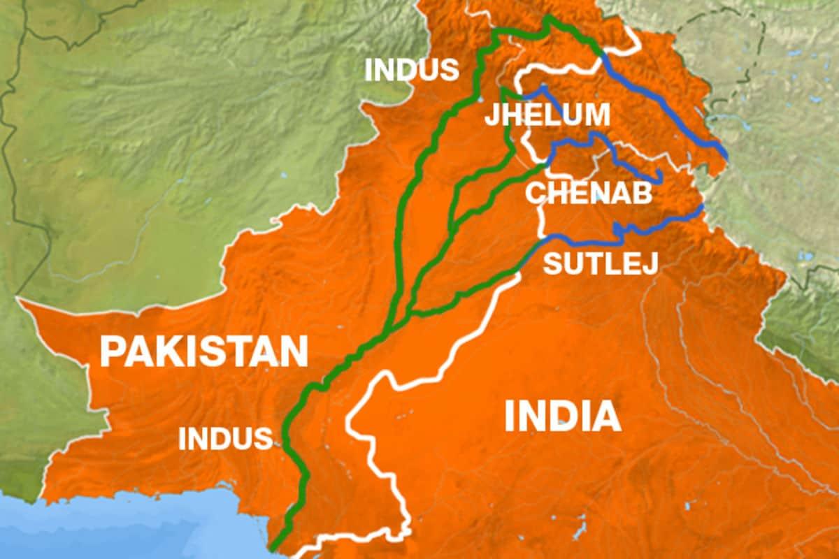 الهند خريطة