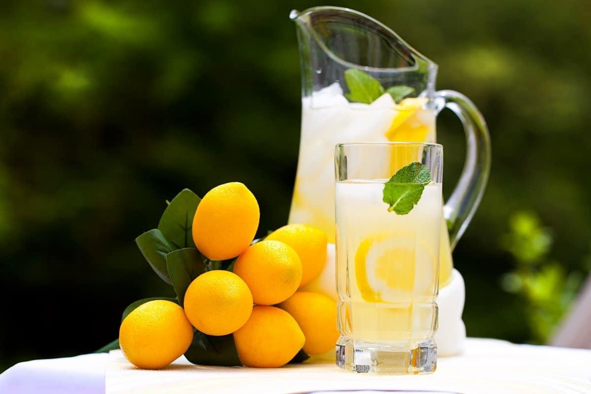 عصير الليمون بالنعناع ينحف