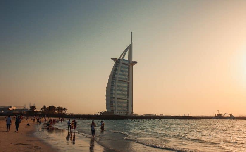 دبي قبل وبعد التطور