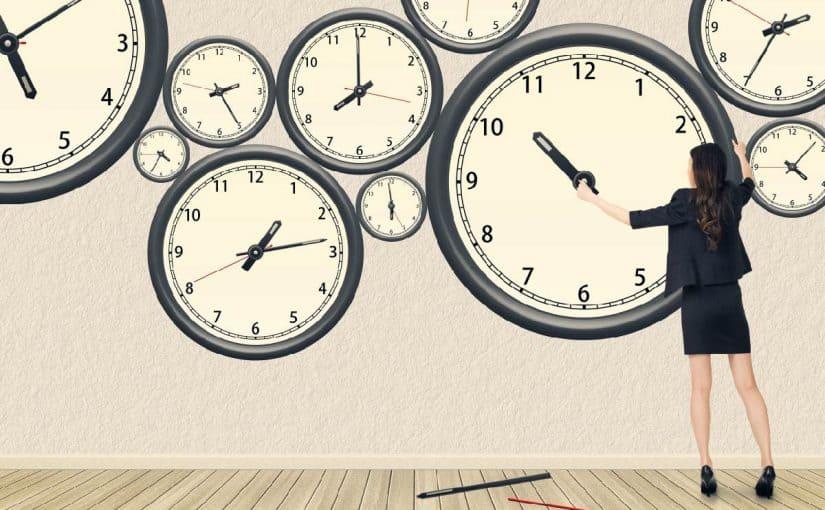 موضوع تعبيري عن الوقت
