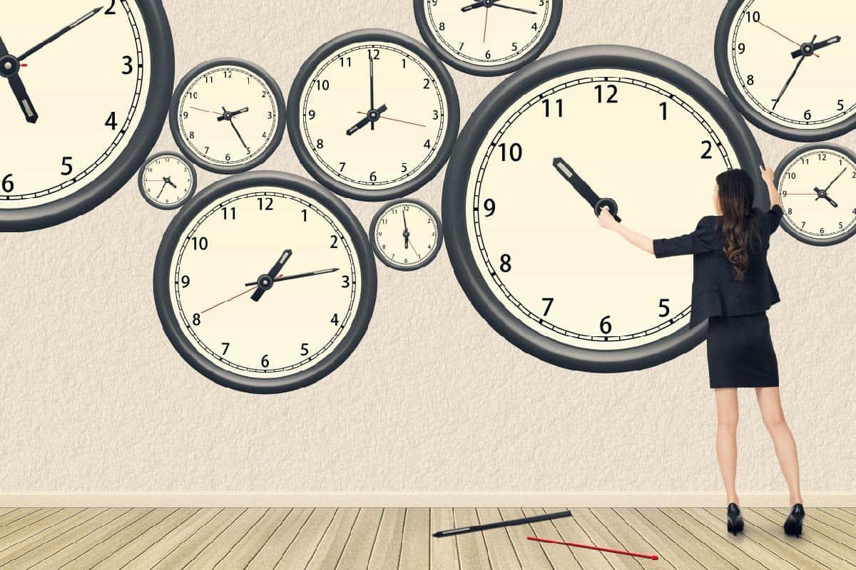 موضوع تعبيري عن الوقت موسوعة
