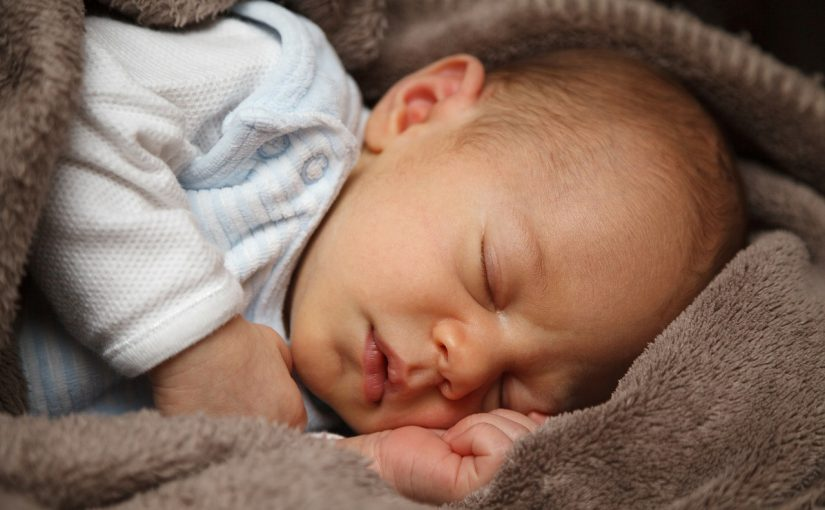 ارتفاع درجة حرارة الرضيع