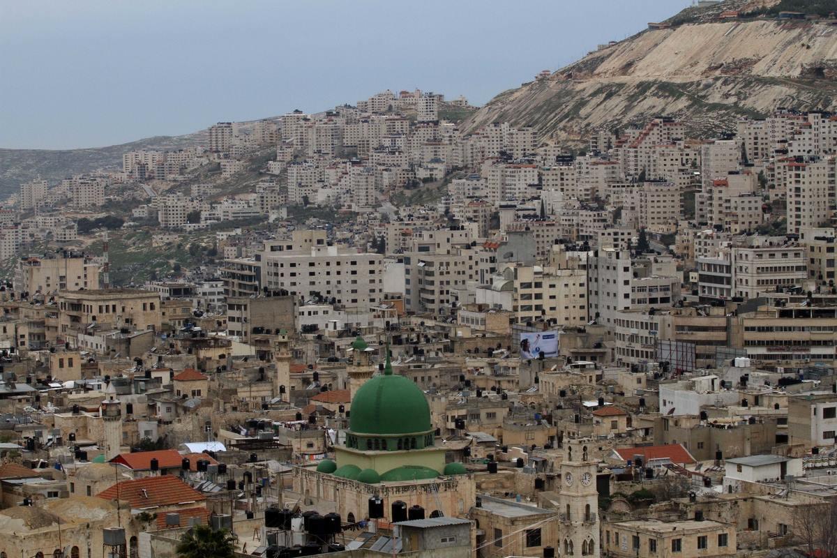 ما هو موقع وحدود فلسطين