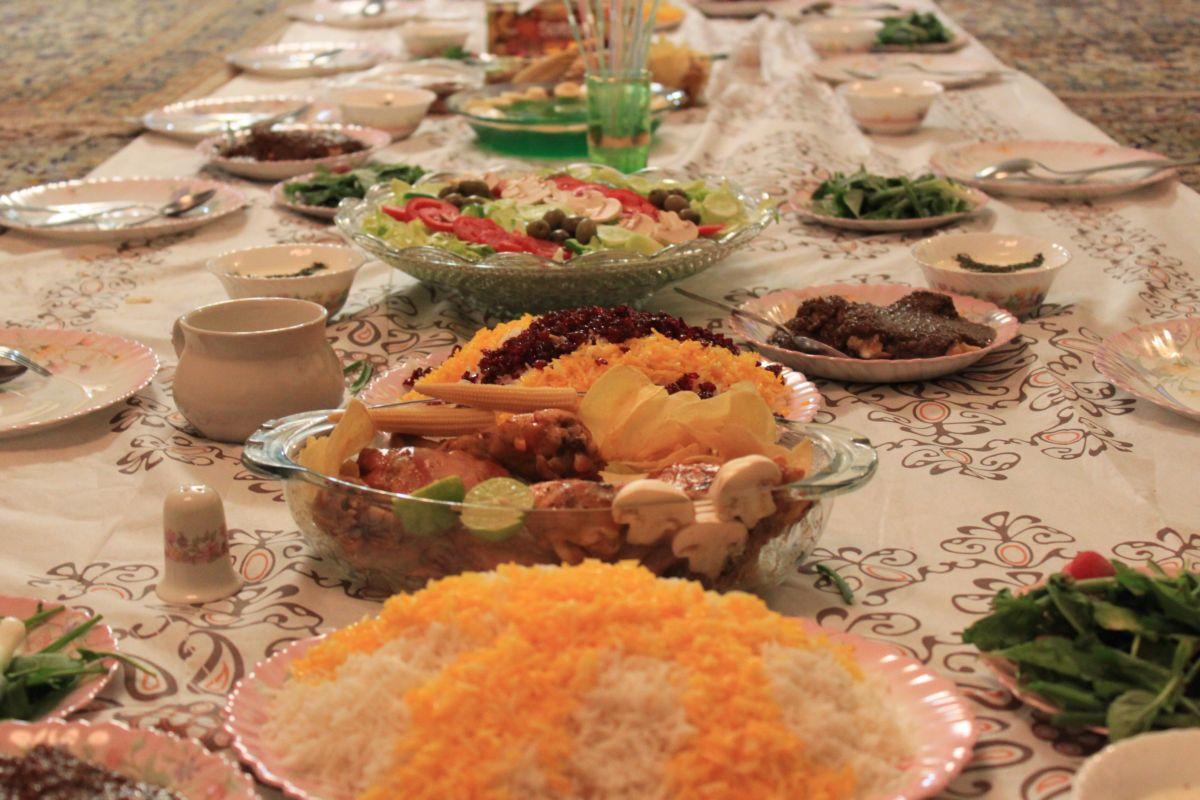فطور اليوم الاول من رمضان