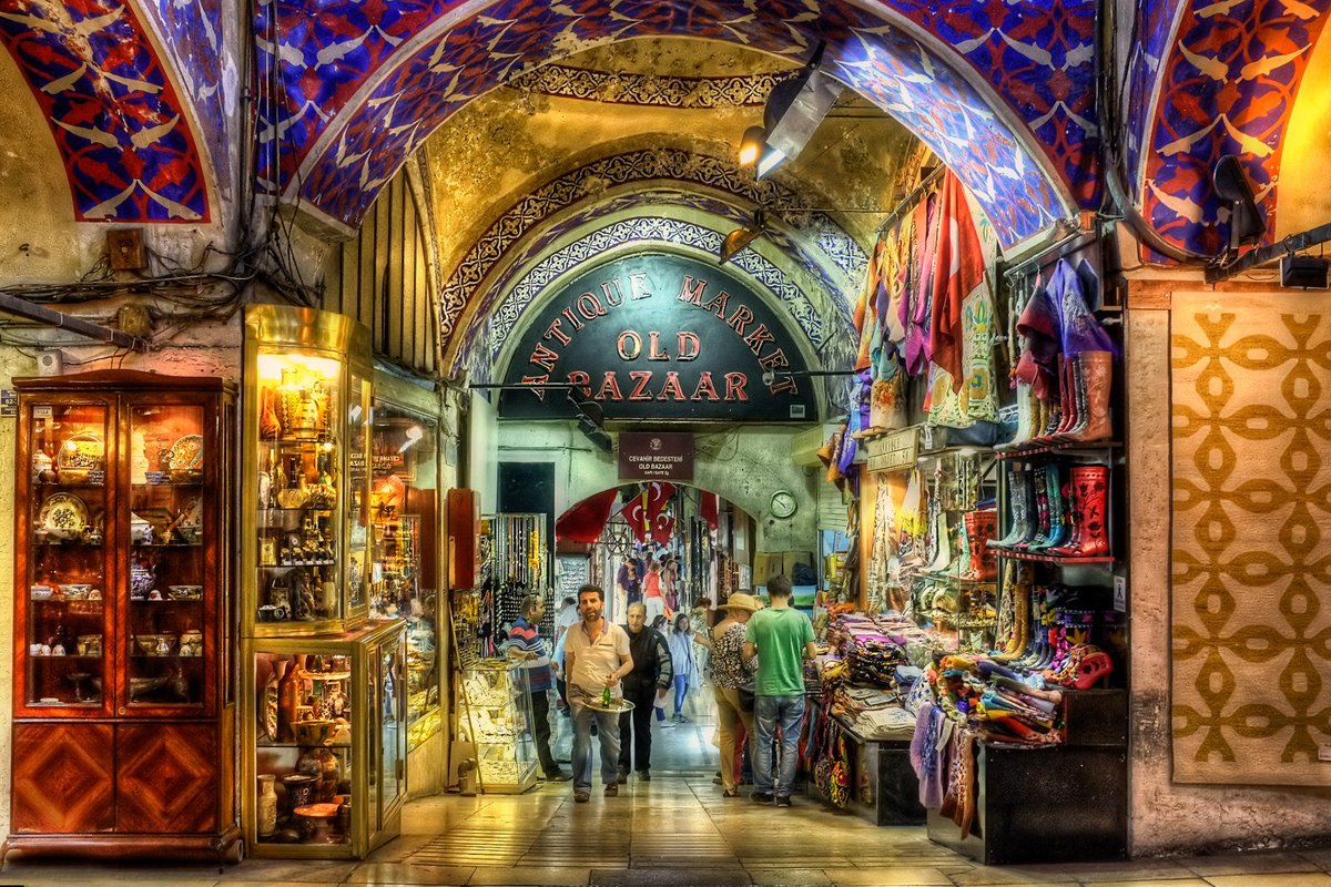 شارع بغداد الراقي بإسطنبول