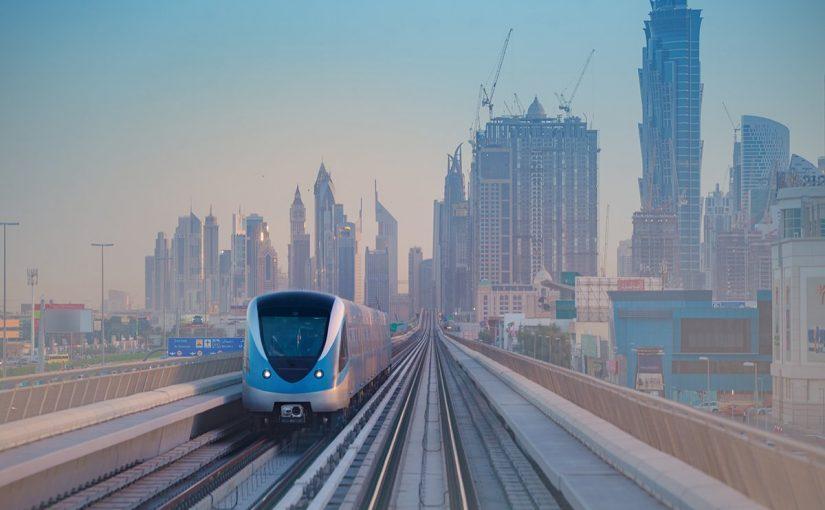 خريطة مترو دبي عربي