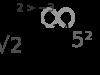 انواع الجذر النوني وامثله عليه