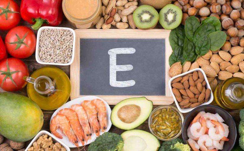 فوائد فيتامين e للبشرة والشعر