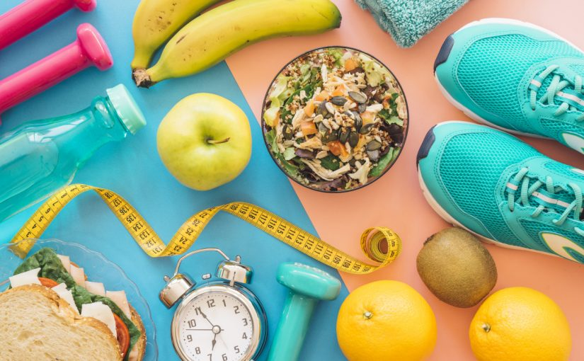 موازنة الغذاء مع الرياضة