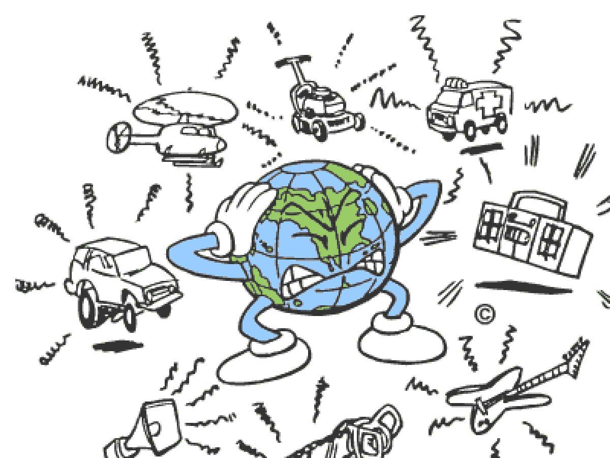 مصادر التلوث الضوضائي في حياتنا اليومية