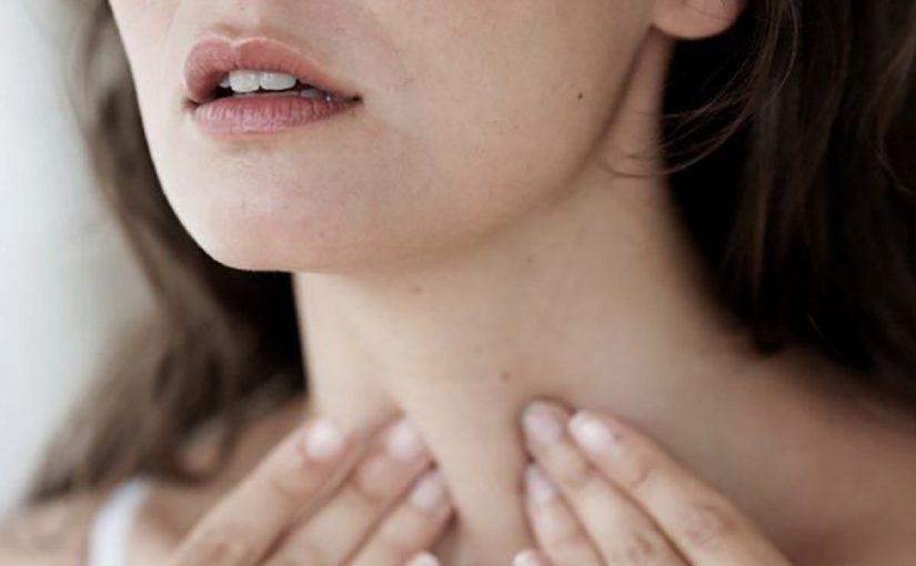 أعراض الغدة الدرقية عند المرأة
