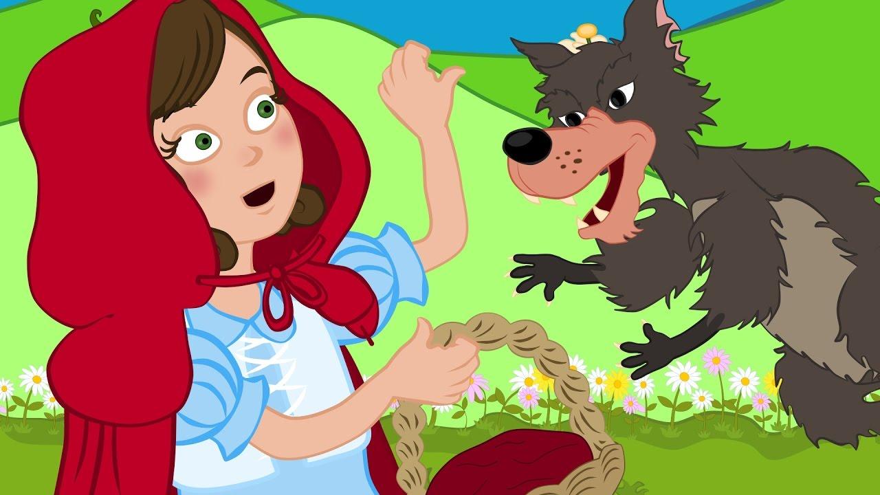 قصة ليلى والذئب للاطفال