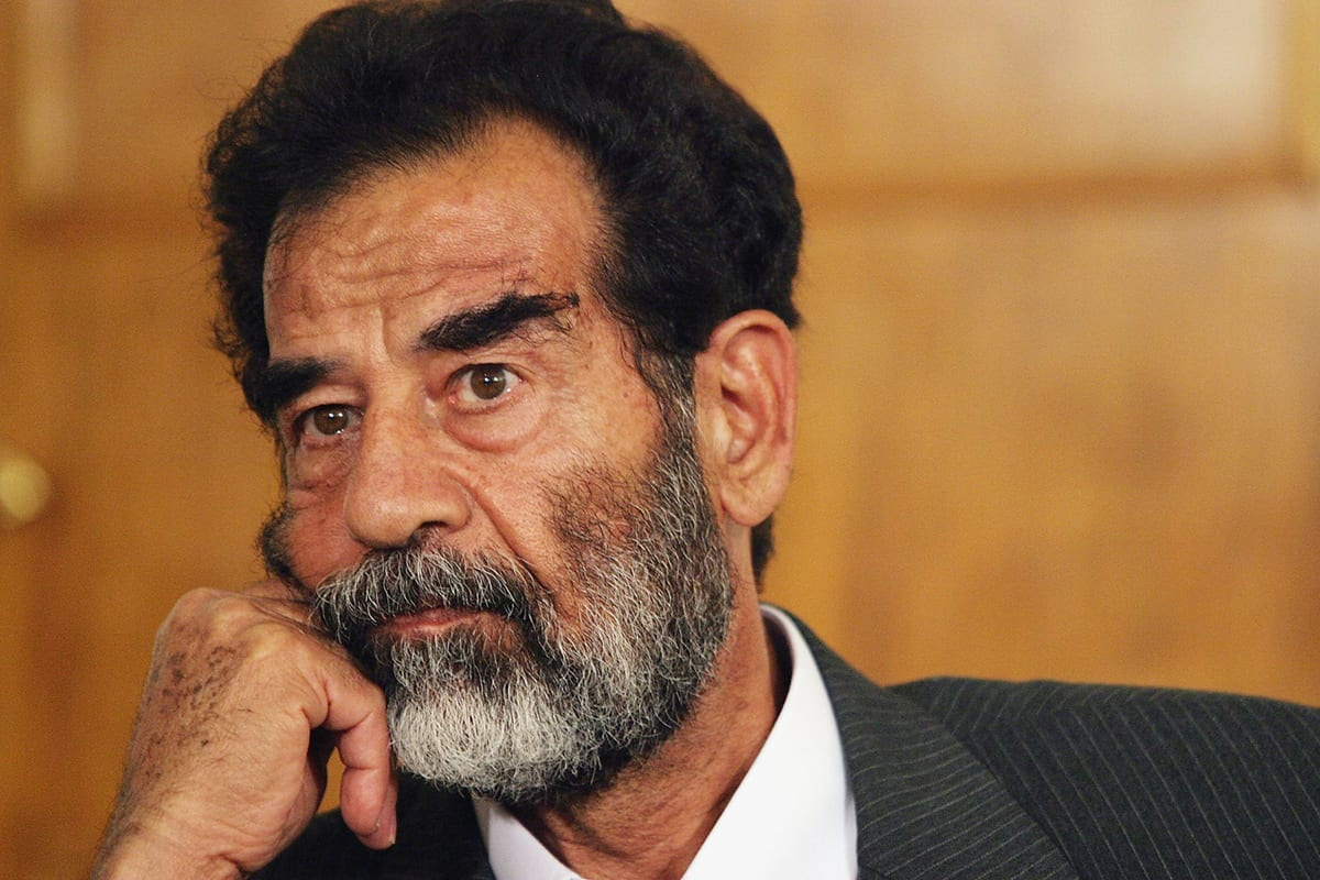 قصة صدام حسين