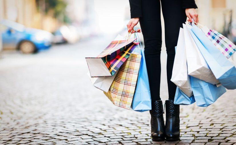 موضوع عن التسوق