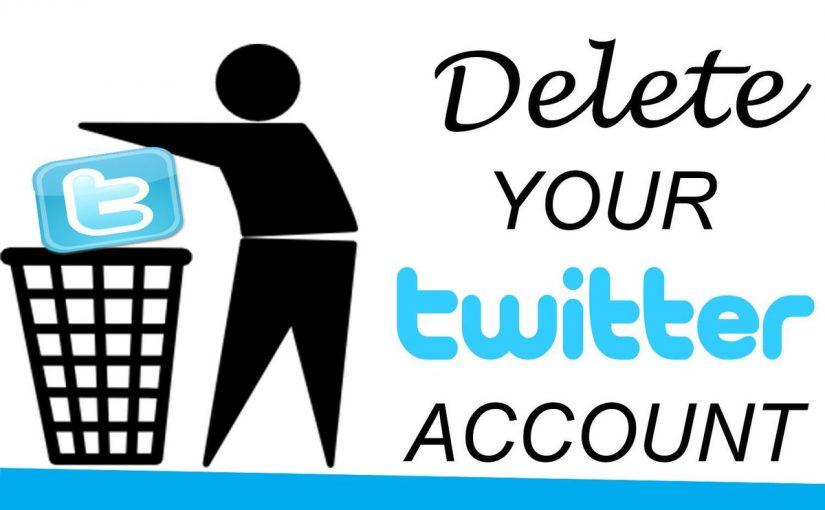 خطوات لإلغاء حساب تويتر نهائياً