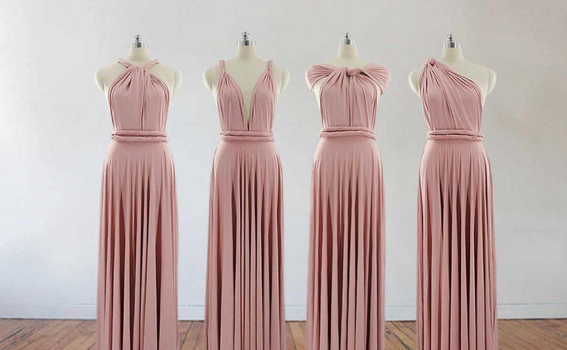 طريقة تفصيل فستان طويل