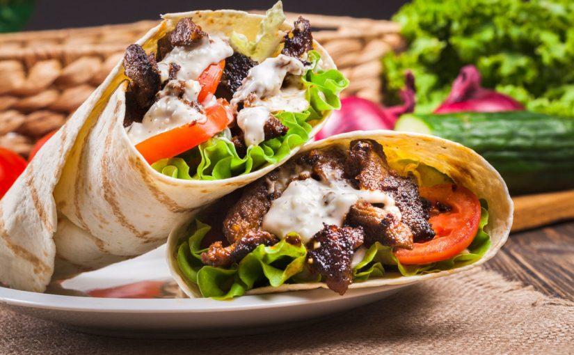 خطوات في طريقة عمل شاورما اللحم