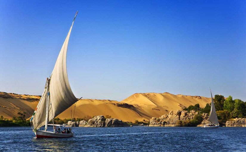 معلومات عن نهر النيل وأهميته