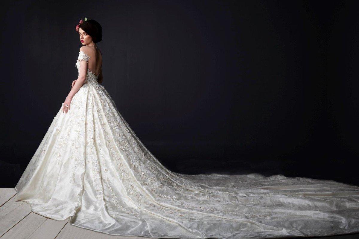 اطول فستان زفاف في العالم