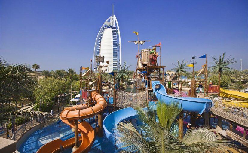 مدينة ملاهي في دبي