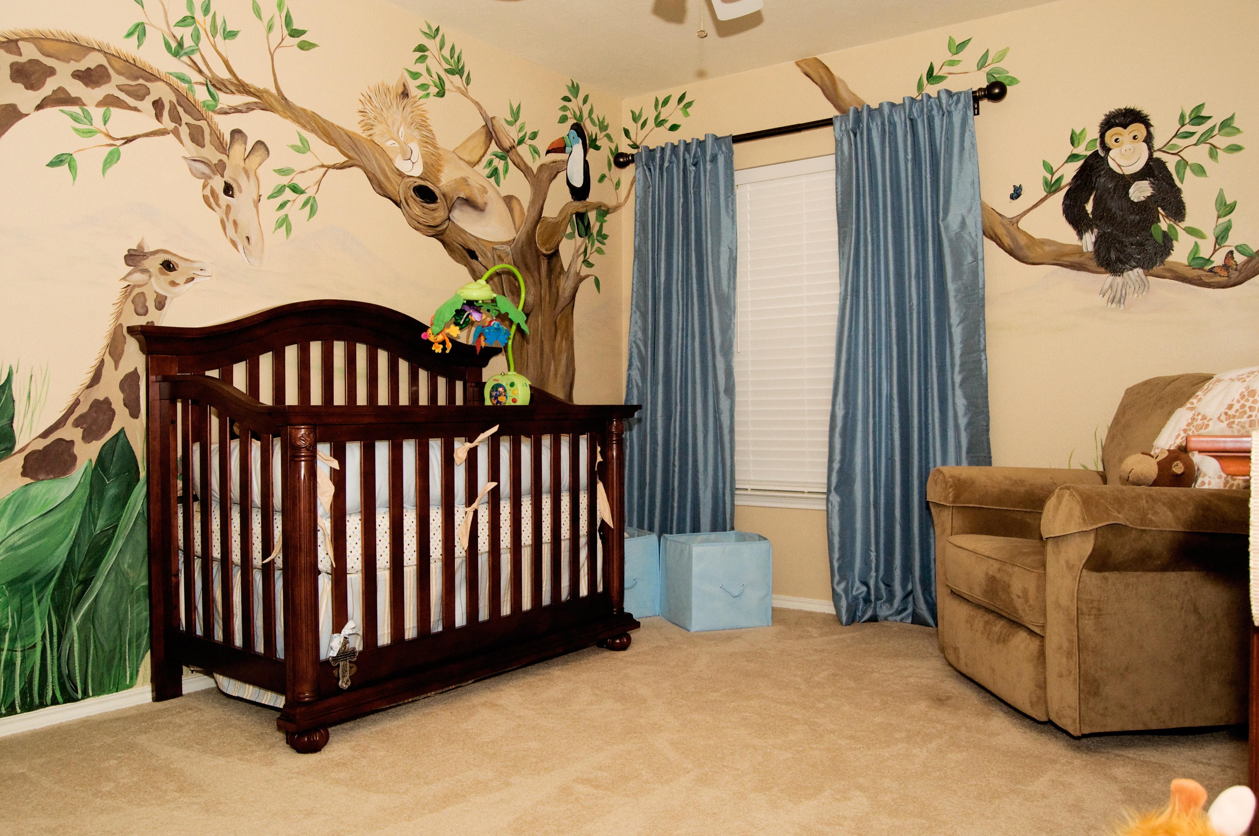 غرف نوم الرضع