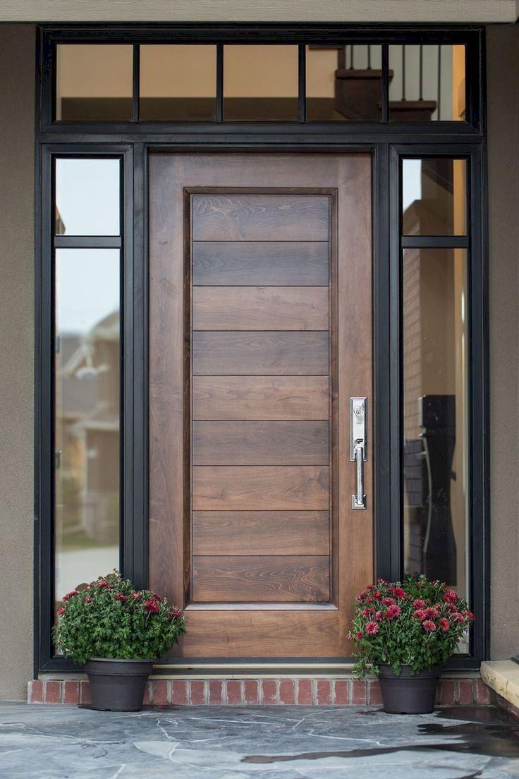 أبواب خشب مودرن modern wooden doors