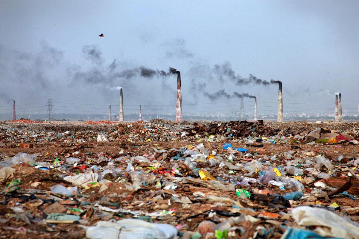 بحث عن تلوث البيئة موسوعة