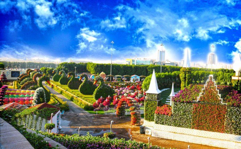 مواعيد حديقة الزهور في دبي