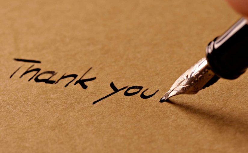 كلمات شكر رائعة