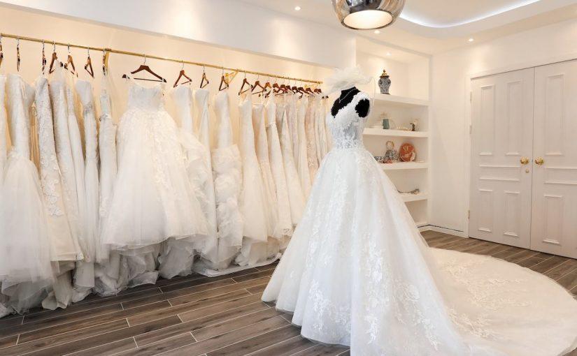 محلات فساتين زفاف في الشارقة