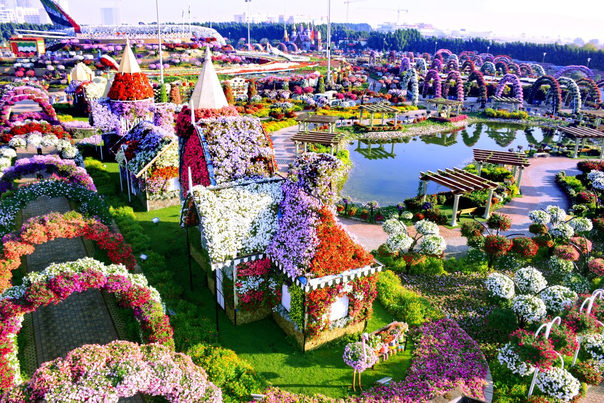 أين تقع الحديقة المعجزة في دبي