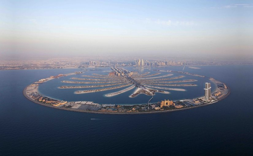معلومات عن جزيرة النخلة في دبي