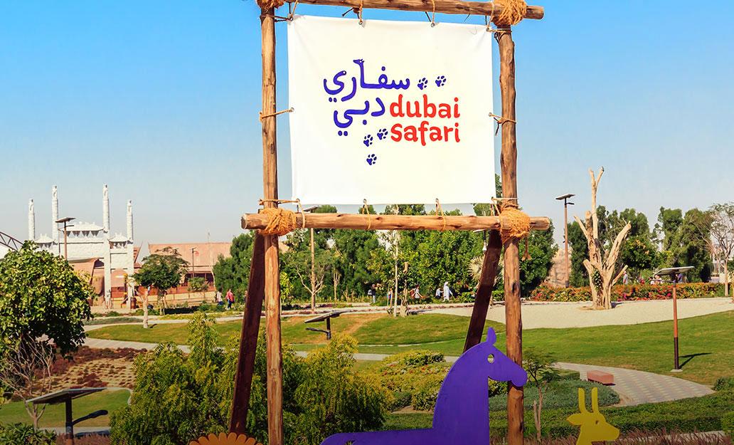 أنشطة حديقة سفاري دبي الجديدة