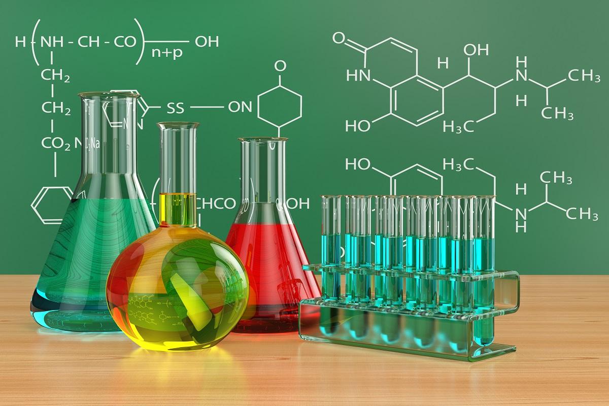 بحث علمي عن الكيمياء