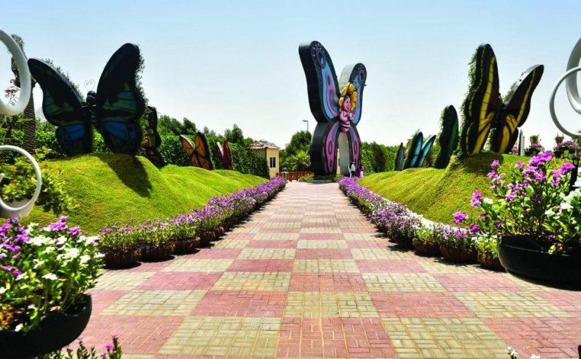أين تقع حديقة الفراشات في دبي