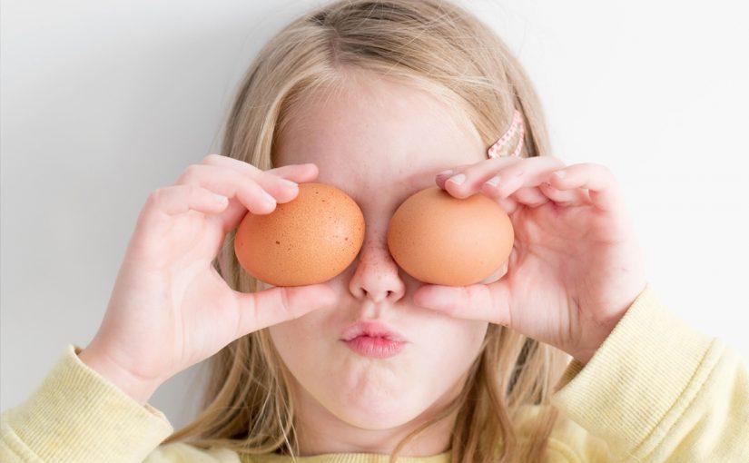 فوائد البيض للاطفال