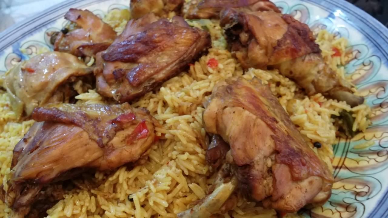 طريقة عمل مجبوس الدجاج الإماراتي